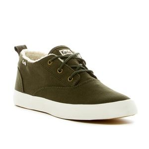 Keds Triumph faux shearling mid sneakers